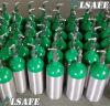 Aluminium Alloy 2.9liter /2015psi D Size Portable Oxygen Gas Tank