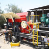 Mobile Jaw Rock Crusher Plant
