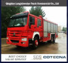 Emergency Rescue HOWO Fire Fighting Truck