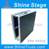 Aluminum Portable Folding Stage, Foldable Stage, Stage Equipment, Exhibition Stage, Car Show Stage