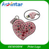 Jewelry Heart USB Disk Necklace Crystal USB Flash Drive