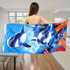 Printed Microfiber Beach Towel 70X150cm