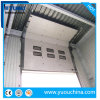 Industrial Automatic Motorized PU Sandwich Panel Thermal Insulated Vertical Sliding Warehouse ...