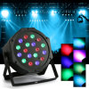4PCS DJ PAR 18X3w LED Light 54W RGB PAR DMX512 Stage Lighting