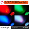 54*3W RGBW LED PAR Light for Life Show Party