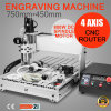 4 Axis CNC Router Laser Engreaving Machine