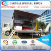 4X2 Right Hand Drive Export to Philipine Advertising Stage Truck