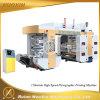 4 Color Colour Non Woven Material Flexographic Printing Machine