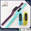 Sport Mirror Silicone Unisex Lady Men′s Digital LED Wrist Pedometer Watch