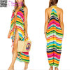 2017 New Fashions Deep V Beach Dress L38492