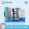 Koller Commercial High Quality Dry Flake Ice Maker for Seafood 3ton