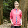 Women′s Long Sleeve Windproof UV Protection Cycling Coat