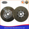 105-300mm Single Side Triangle Dots Electroplated Diamond Saw Blade