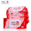 90PCS Soft Cotton Non-Woven Spunlace Wet Wipes Baby Cleaning Wipes