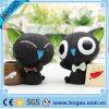 OEM Resin Pen Holder Black Cat Table Decoration