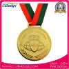 Custom Design Alloy Gold Medal for Souvenir Gift