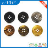 Classical 4 Hole Plastic Imitation Horn Button