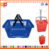 Supermarket New Plastic Shopping Basket (Zhb1)