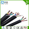 Round Rubber Sheathed Submersible Deep Well Pump Cable