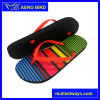 Must-Have New Printed Stripe Slipper Girls Flip Flop (D1614-BLACK)