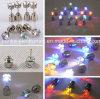 LED Glowing Studs Earring for Party Disco (4901)