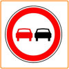 Reflective Plastic Traffic Sign / Road Safety Round Traffic Warning Sign