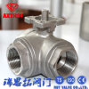 High Quality Three Way Floating Ball Valve