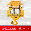 35ton Electric Chain Hoist Fixed Type (WBH-35016S)