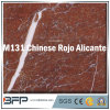 Chinese Rojo Alicante Red Marble 10mm Thick Tile for Home Decor, Wall, Flooring DIY Install