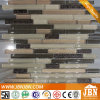 Golden Spray Crystal Glass Mosaic and Resin Mosaic Tiles (M855088)