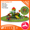 Commercial Round Roof Plastic Kids Outdoor Playground Slide