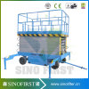 China Manufacturer 300kg Rated Load Mobile Eleciftic Scissor Lift, Electric Loading Platform, Electric Lift
