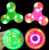 ABS LED Chargeable Fidget Spinner Bluetooth