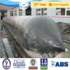 D=1m, L=22m ISO 9001 Inflatable Marine Ship Launching Rubber Airbag