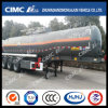 Cimc Huajun 30cbm 3axle Naoh Liquid Tanker Trailer