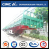 Cimc Huajun Side-Tipping 3axle Fence Trailer with Hydraulic Cylinder