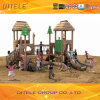 Wood-Plastic Children Outdoor Amusement Playground Equipment (2014 NL-01401)