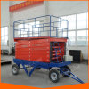 12m Self-Propelled Movable Hydraulic Vertical Scissor Lift with Ce