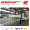 Factory Direct Sale Tri-Axle 60 Tons Low Bed Semi Trailer