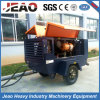 300cfm 10bar Diesel Trailer Mining Air Compressor with Jackhammer