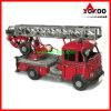 Antique Frie Truck Model - Red Vintage Vw Fire Engine (JLF1901-R)