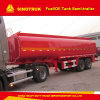 30m3 2 Axle Fuel/Oil Storage Tank Truck Semi Trailer