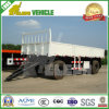 Regular 20FT Cargo Box Body Truck Towing Drawbar Full Trailer