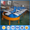 Automatic Frabic Oval Silk Screen Printing Machine for Sale
