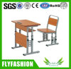 High Quality Adjustable Classroom Furniture Single Student Desk and Chair (SF-88S)