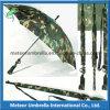 Special Camouflage Disruptive Pattern Gun Shape Automatic Golf Hunting Umbrella