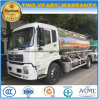 4X2 Oil Transport Truck 15000L Aluminum Alloys Fuel Tanker Truck