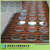 Small Round Tempered Glass Pieces of Different Thickness