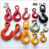 Forged Clevis Grab Hook with Latch/Clevis Safety Hook/Self Locking Hook