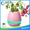 2017 Best Seller New Piano Music Plant LED Bluetooth Speaker